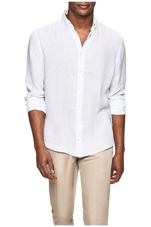 Hackett Garment Dye Linen Bs XXL Optic