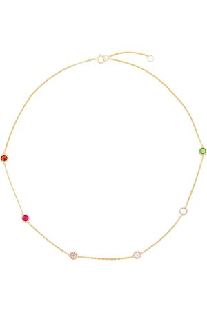 Rosie Fortescue Jewellery Embellished 18kt -plated necklace