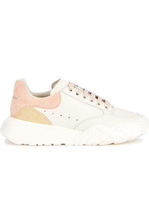 Alexander McQueen Court panelled leather sneakers