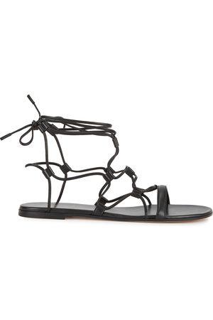 Gianvito Rossi Giza leather sandals