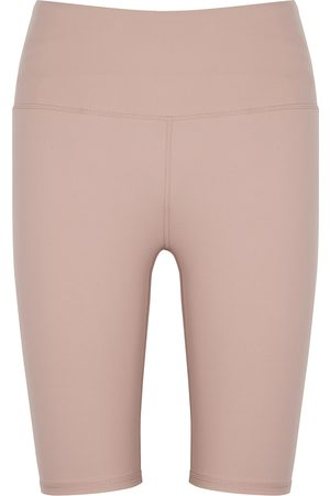 Varley Merridy blush stretch-jersey shorts