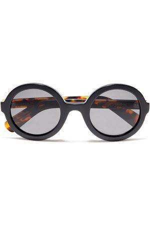 Joseph Woman Round-frame Tortoiseshell Acetate Sunglasses Size