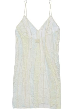 MYLA Woman Bywater Street Embroidered Lace And Tulle Chemise Ecru Size L