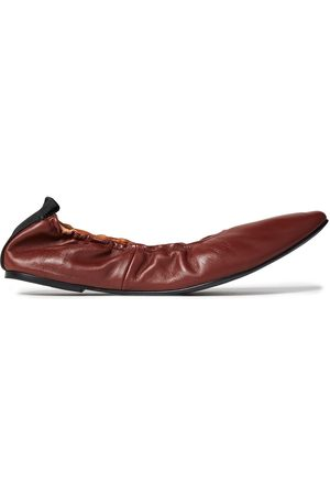 Joseph Woman Leather Point-toe Flats Size 36