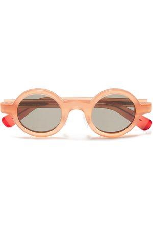 Joseph Woman Round-frame Tortoiseshell Acetate Sunglasses Antique Rose Size