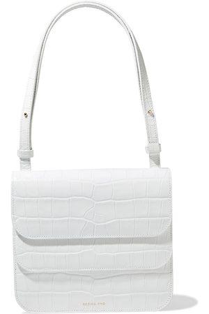REJINA PYO Women Wallets - Woman Ana Croc-effect Leather Shoulder Bag Size