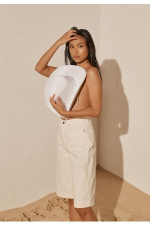 Missguided Re_Styld Wide Leg Denim Shorts