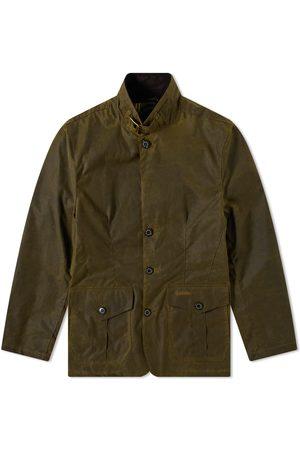 Barbour Men Outdoor Jackets - Lutz Wax Jacket