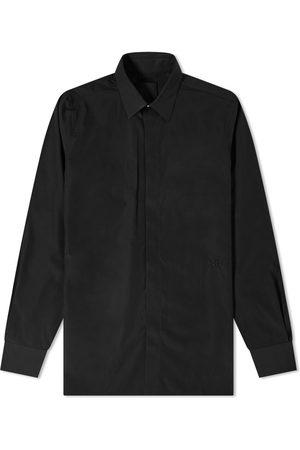 Givenchy Men Shirts - 4G Embroidered Poplin Shirt