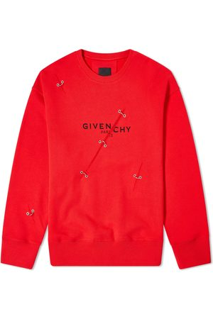 Givenchy Men Rings - Oversized Trompe LOeil Ring Crew Sweat
