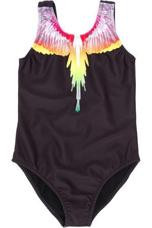 MARCELO BURLON Boys Swim Shorts - Logo swim trunks