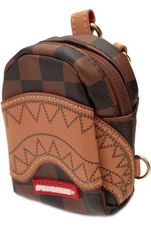 Sprayground Henny Checkered Tiny Backpack