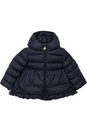 Moncler Odile Hooded Nylon Down Jacket
