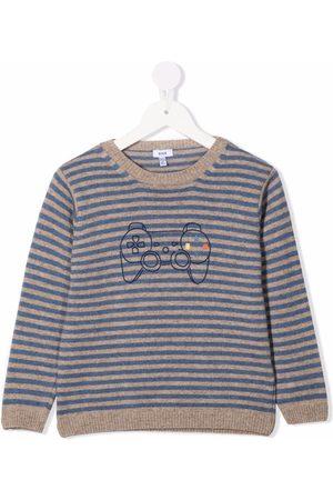 Knot Gemu knitted sweater - Grey