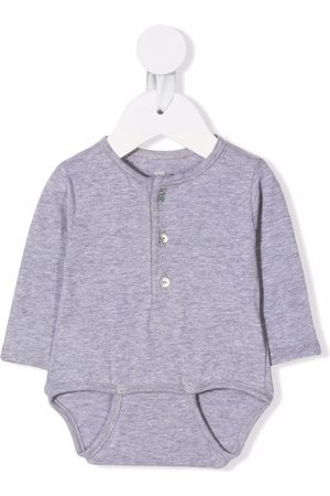 Knot Rompers - Button-up body - Grey