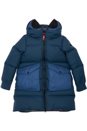 Ai Riders on the Storm Hooded Nylon Down Coat
