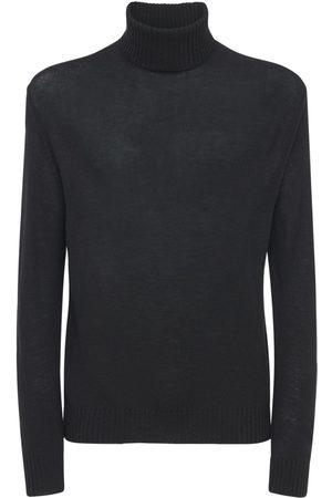 Jil Sander Men Turtlenecks - Plus Fine Wool Turtleneck Sweater