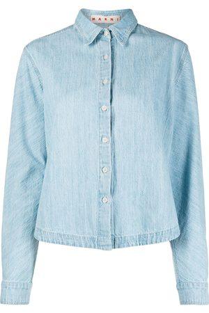 Marni Women Long sleeves - Long-sleeve denim shirt