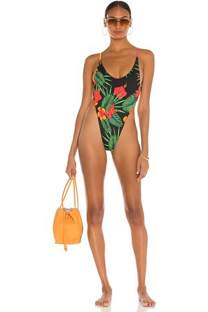 Minimale Animale Women Swimsuits - The Oasis Suit in Green.