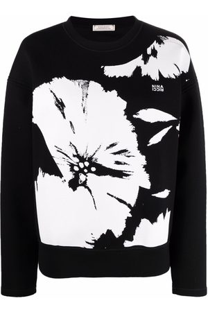 Nina Ricci Floral-print sweatshirt