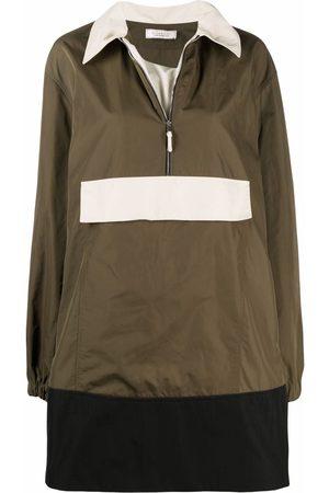 Nina Ricci Pullover colour-block coat