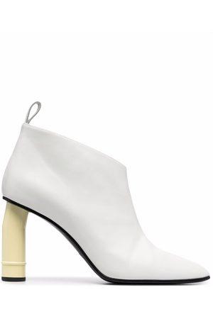 Nina Ricci Mid-heel leather boots