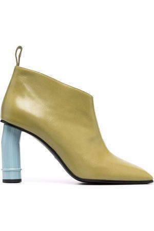 Nina Ricci Two-tone heeled boots