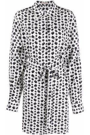 Nina Ricci Tie-fastening shirt dress