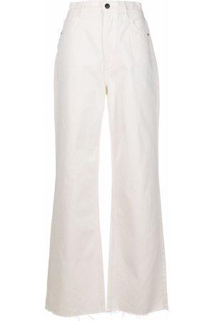 12 STOREEZ High-waisted wide leg jeans