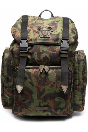 VERSACE Baroque-print backpack