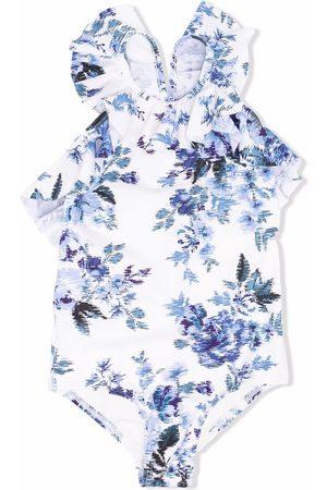 ZIMMERMANN Girls Swimsuits - Aliane butterfly frill swimsuit