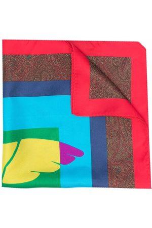 Etro Men Bow Ties - Pegaso silk pocket square