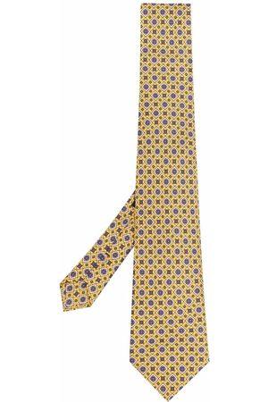 Etro Geometric-print silk tie
