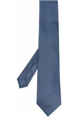 Etro Diagonal-stripe silk tie