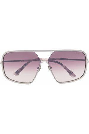 TOM FORD Eyewear Lennox aviator-frame sunglasses