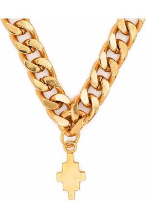 MARCELO BURLON Men Necklaces - Logo-pendant necklace