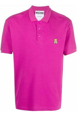 Moschino Teddy Bear piquet polo shirt