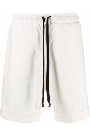 Alchemy Piped-trim detail track shorts