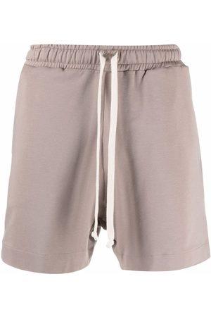 Alchemy Drawstring track shorts - Neutrals