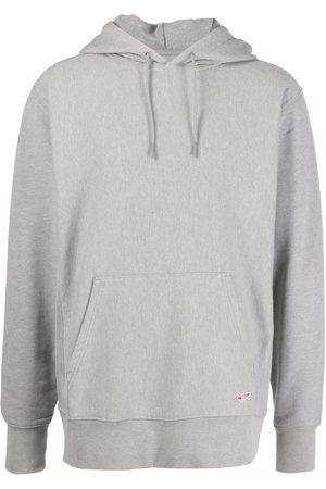 Vans Vault logo patch hoodie - Grey
