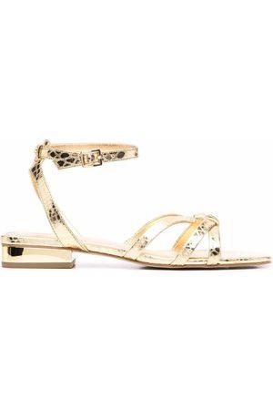Michael Kors Metallic strappy sandals