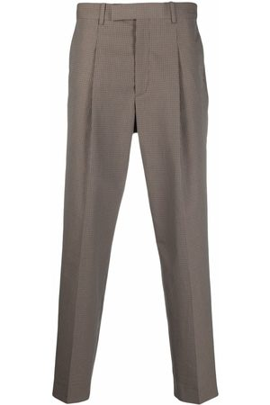 Paul Smith Check tailored trousers - Neutrals