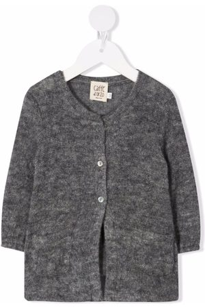 Caffe' D'orzo Bice buttoned cardigan - Grey