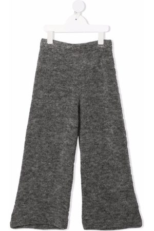 Caffe' D'orzo Knitted flared trousers - Grey