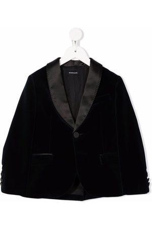 Monnalisa Velvet tuxedo jacket