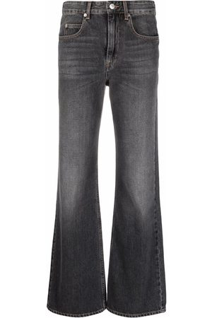 Isabel Marant High-rise flared jeans - Grey