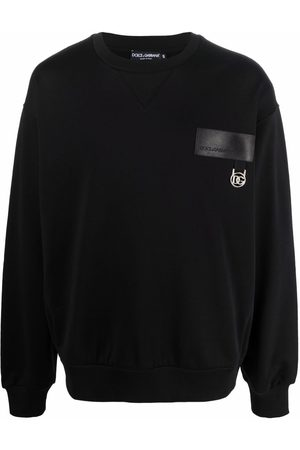 Dolce & Gabbana Logo-plaque long-sleeve sweatshirt