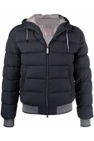 Herno Zipped hooded puffer jacket