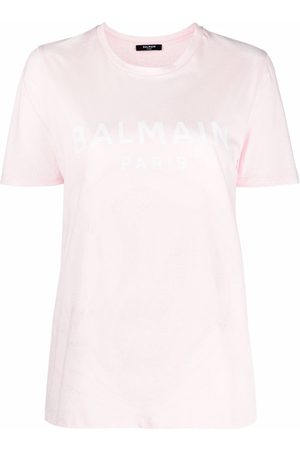 Balmain Logo-print short-sleeve T-shirt
