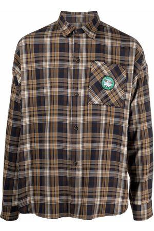 SOCIÉTÉ ANONYME Plaid long-sleeve shirt